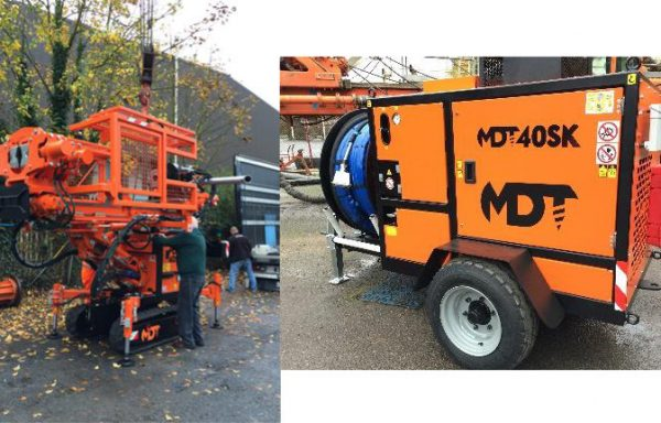 MDT40SK Multi Use Compact Drilling Rig