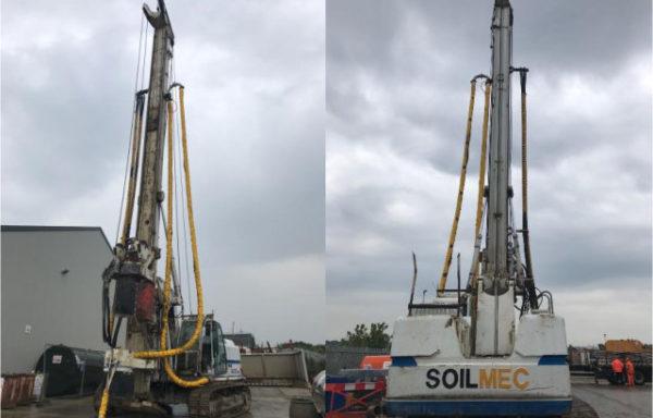 Soilmec R-312/200 Drilling Rig