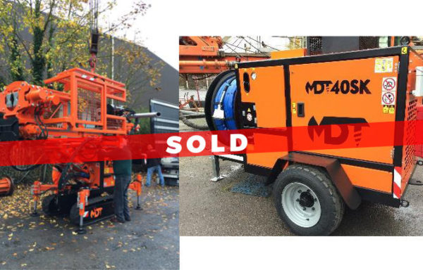 SOLD > MDT40SK Multi Use Compact Drilling Rig