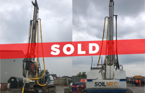 SOLD > Soilmec R-312/200 Drilling Rig